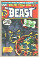 Amazing Adventures # 17 Marvel Comics 1973 Jim Starlin Art Origin of the Beast