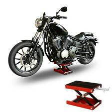 1100LB Scissor Lift Jack ATV Motorcycle Center Hoist Lift Crank Repair Stand Red
