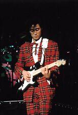 andrew ridgeley WHAM playing guitar in beijing china 1985 signed 12x8 photo