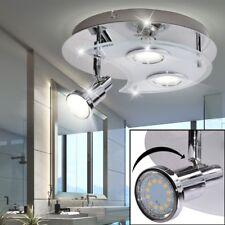 LUXE LED PLAFOND SPOT LAMPE DE MAUVAISE CHROME dielen éclairage réglable