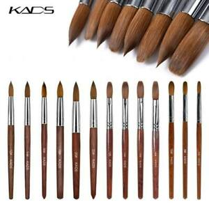 KADS Kolinsky Acrylic Nail Brush Acrylic Liquid Powder Nail Extension UV Gel Pen