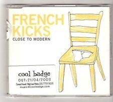 (FZ839) French Kicks, Close To Modern - 2003 DJ CD