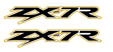 ZX-7R / ZX7R Fairing Decals / Stickers (Old Style) (ANY COLOUR) (200mm) X2