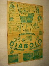 Affiche Ancienne CITROEN 2 CV Ecremeuse Diabolo Machine Traire Agricole Brochure