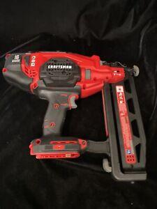 Craftsman 20V Cordless Finish Nailer Kit V20 16GA CMCN616 Type 1 V20 Tool Only