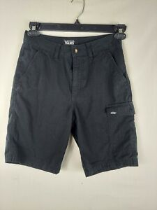VANS Off The Wall Skater Cotton Canvas Youth Boys Shorts Size 16