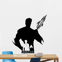 Aquaman Wall Decal Superhero Nursery Vinyl Sticker Comics Decor Poster 177zzz