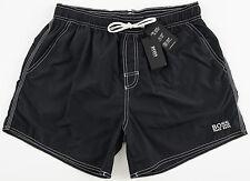 Men's HUGO BOSS Black Swim Trunks Swimsuit Medium M NWT NEW Lobster 50223665