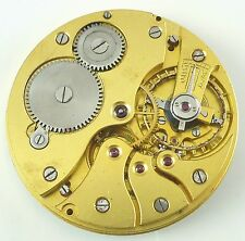 Unsigned High - Grade Swiss Pocket Watch Movement -  Spare Parts / Repair!