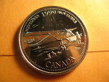 Canada 1999 November 25 Cent Mint Coin.