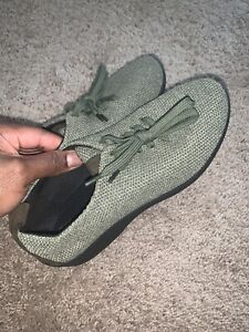 Arcopedico Women LS Shocks Sneakers Sz 39 8 8.5 Olive Green Lace-Up Shoes
