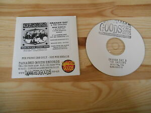 CD Punk Graham Day / Gaolers - Begging You (2 Song) Promo DAMAGED GOODS