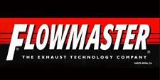 Flowmaster Genuine Logo 2x4 Racing Car Auto Garage Shop Vinyl Banner Sign Art