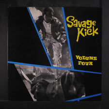 VARIOUS: Savage Kick Vol. 4 LP (UK) Blues & R&B
