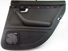 RIGHT REAR BLACK DOOR PANEL AUDI A4 S4 B6 02-05 BLACK GENUINE OEM 4.2L V8 OE