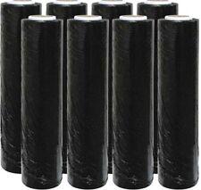 More details for strong black pallet wrap rolls stretch shrink parcel packing cling film