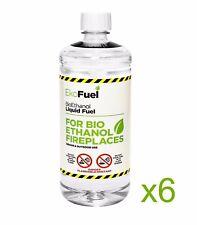 Bio Ethanol Fuel 6L, FREE NEXT DAY DELIVERY, Premium Grade Quality, Clean Burn