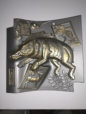Chinese Cast Boar Wild Pig Plaque Decoration Babyrousa Deer Butterfly