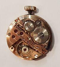 PERFECTA maquina SUIZA de reloj de señora LUBER de cuerda con esfera y cristal .