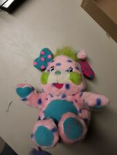 Popples Polka Dottie Plush Stuffed Animal Fold Up Toy 2001