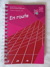 """Oficial Oda Londres 2012 Juegos un equipo de transporte insider guide - 'en ruta"""""""