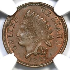 1863 F-100/341 a R-7 NGC MS 63 BN ONE COUNTRY Civil War Token