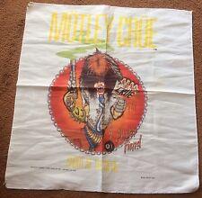 ALLISTER FIEND 1984 VINTAGE MOTLEY CRUE shout at the devil TAPESTRY POSTER Shirt
