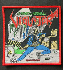 Violator Chemical Assault Patch vio-lence-municipal waste-nuclear assault-slayer