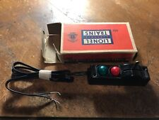 LIONEL POST WAR O 22 SWITCH CONTROLLER WITH New  WIRING and box very nice
