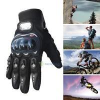 Motorcycle Racing Waterproof Windproof Winter keep Warm Leather Gloves Outdoor