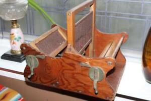 Antique Hand Loom Table Top Rustic Farmhouse Decor