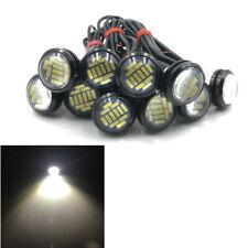 10X 23mm Eagle Eye 12 LED 4014 SMD Car Daytime Running DRL Backup Reverse Light