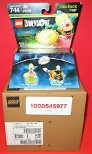 Lot of 6 (Sealed Case) LEGO Dimensions The Simpsons Krusty Fun Pack 71227
