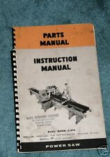 Doall C-270 Band Saw Manuals