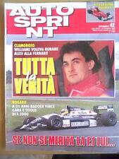 Autosprint 42 1992 Luca Badoer vince Formula 3000
