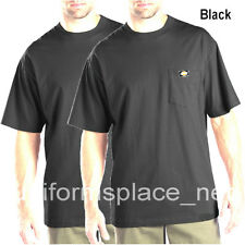 2 pcs Men's Dickies Short Sleeve POCKET T- SHIRT Tee Cotton Solid Plain colors
