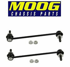 For Cadillac SRX 10-15 Pair Set of 2 Front Stabilizer Sway Bar End Links Moog