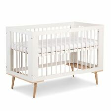Weiß Babybett Gitterbett  /'/'PAULA /'/' 120x60 Kinderzimmer inkl Lattenrost