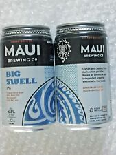 NEW GRAPHICS ~ EMPTY MAUI BREWING BIG SWELL IPA Craft Beer 12oz Can Hawaii