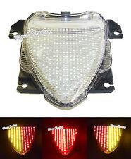 E-Marked Tail Turn Signals Light Clear For SUZUKI Boulevard M109R VZR1800 M1800R