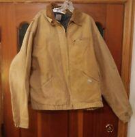 000 Vintage Carhartt 1989 100 Year Anniversary Coat - Blanket Lined