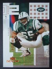 NFL 166 Marvin Jones New York Jets Upper Deck MVP 2002