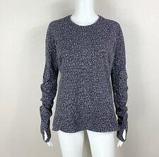 LULULEMON Runderful Long Sleeve Shirt Knotted Jacquard Print Rulu 12 - NTSF