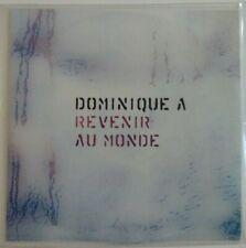 DOMINIQUE A : REVENIR AU MONDE ♦ CD SINGLE PROMO ♦