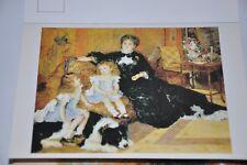 Carte Postale ancienne - Postcard Auguste RENOIR - Madame Carpentier - 1878