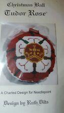 CHRISTMAS BALL Tudor Rose Needlepoint kit