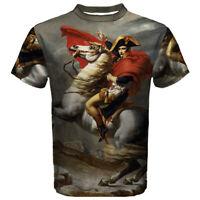 New Napoleon Bonaparte Sublimated Men's Sport Mesh Tee t shirt FREE SHIPPING