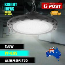 High Bay LED Lights Lamp 150w Industrial Shed Factory Warehouse Light UFO