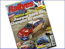 Magazine Rallye Magazine N°139 - Aout 2004