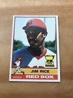 1976 TOPPS #340 JIM RICE HOF BOS RED SOX— PACK FRESH💥*** (wph)